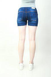 Hotpants Frayed Classic Blue (back)