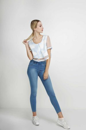 Jegging-Sateen-Deep-Sky-Blue-(pose)