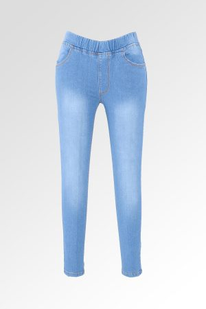 Jeggings Sateen Jumbo Deep Sky Blue 1
