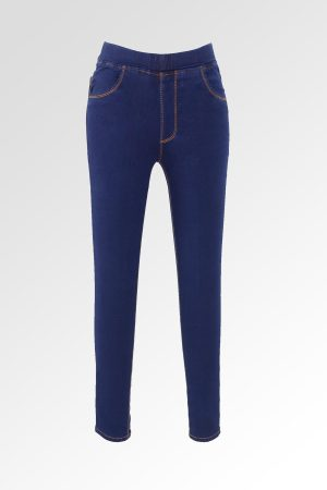 Jeggings Sateen Jumbo Navy 1