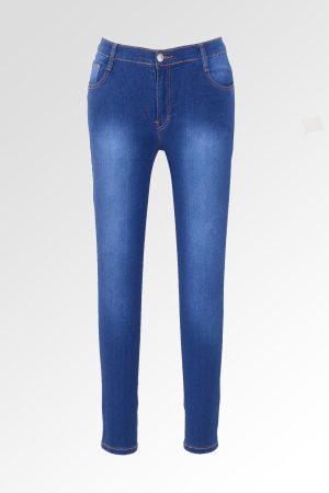 Skinny Sateen Jumbo Classic Blue 1