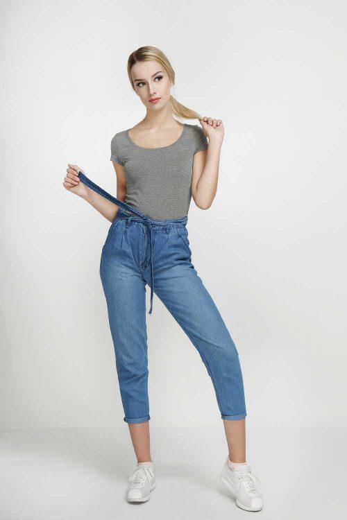 Harem-Jeans-Deep-Sky-Blue-(pose)