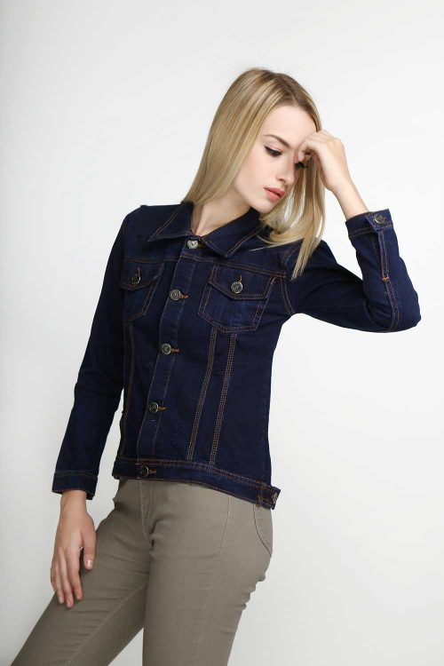 Windy-Denim-Jacket-Navy-(pose)